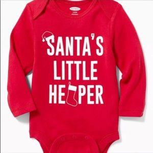 Santa's little helper one piece